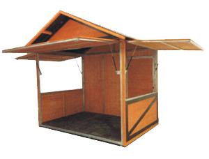 casetas de madera de alquiler